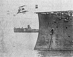 Eugene Ely landing on a battleship.jpeg