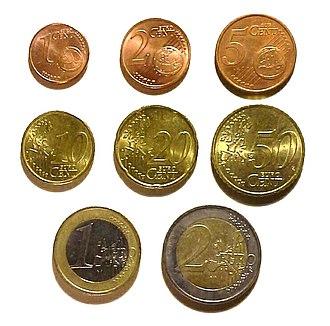 Euro coins - Euro coins
