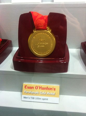 Evan O'Hanlon - Image: Evan O'Hanlon medal