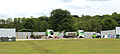 Event steel shield and temporary truck pad at Wollaton Park, Nottingham, England 01B.jpg