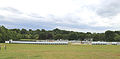 Event steel shield at Wollaton Park, Nottingham, England 01.jpg