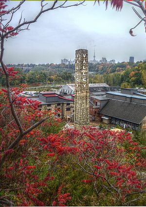 Don Valley Brick Works - Present-day (2011) view of the Brickworks
