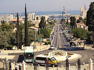 Haifa Bay - Haifa: German Colony and harbour