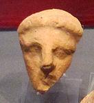 Ex-voto della collezione ricci busatti, testa, III-II sec. ac. 03.jpg