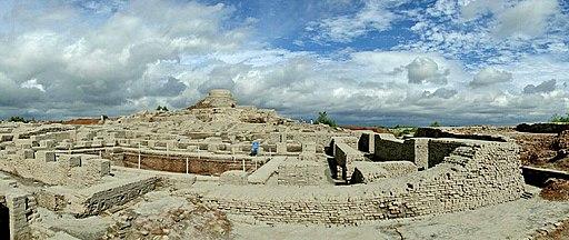 Excavated ruins of Mohenjo-daro