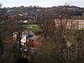 Exe Street from above St Bartholomew's Lower Cemetery - geograph.org.uk - 1058630.jpg
