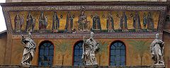 Exterior Mosiac of Santa Maria Trastevere