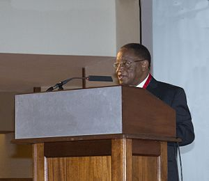 Ezra Suruma - Chancellor of Makerere University Ezra Suruma