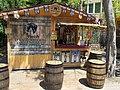 FőzőFeszt 2015. Artisan Beer Festival. Kentucky bourbon barrel ale stand. - Budapest, City Park. Olof Palme promenade.JPG