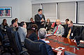 FEMA - 45663 - Zivko Babovic, Serbia Civil Protection Dept Briefs FEMA.jpg