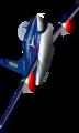 FIAT G.91 Frecce Tricolore rotation.png