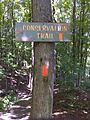 FLT CT07 4.2 mi - Sign next to parking lot on Hunter Creek Rd - panoramio.jpg
