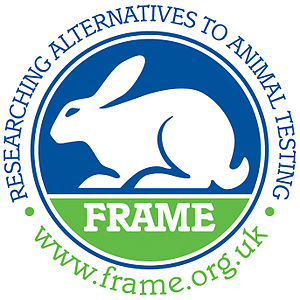 Fund for the Replacement of Animals in Medical Experiments - Image: FRAME Logo+Strap