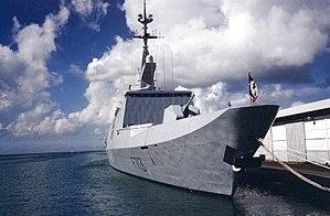 French frigate Aconit - Image: FS Aconit 3
