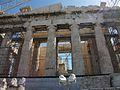 Façana oest del Partenó, Acròpoli d'Atenes.JPG
