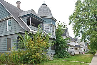 Pontiac, Michigan - Houses in the Fairgrove Avenue Historic District
