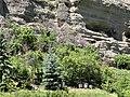 Falaise et ruches depuis le chamin sous le Roc (Embrun).jpg