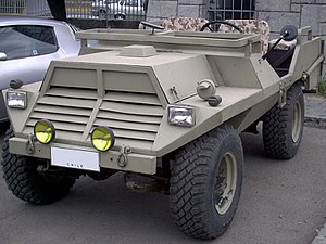 FAMAE - The 1975 FAMAE Corvo light 4x4 never went beyond the prototype stage