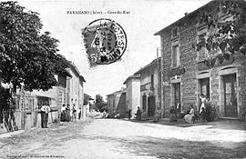 The main road in 1910