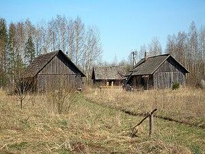 Kundruse - Abandoned farmstead in Kundruse.
