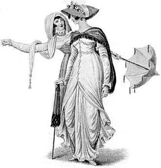 La Belle Assemblée - Image: Fashion Plate La Belle Assemblee 1809