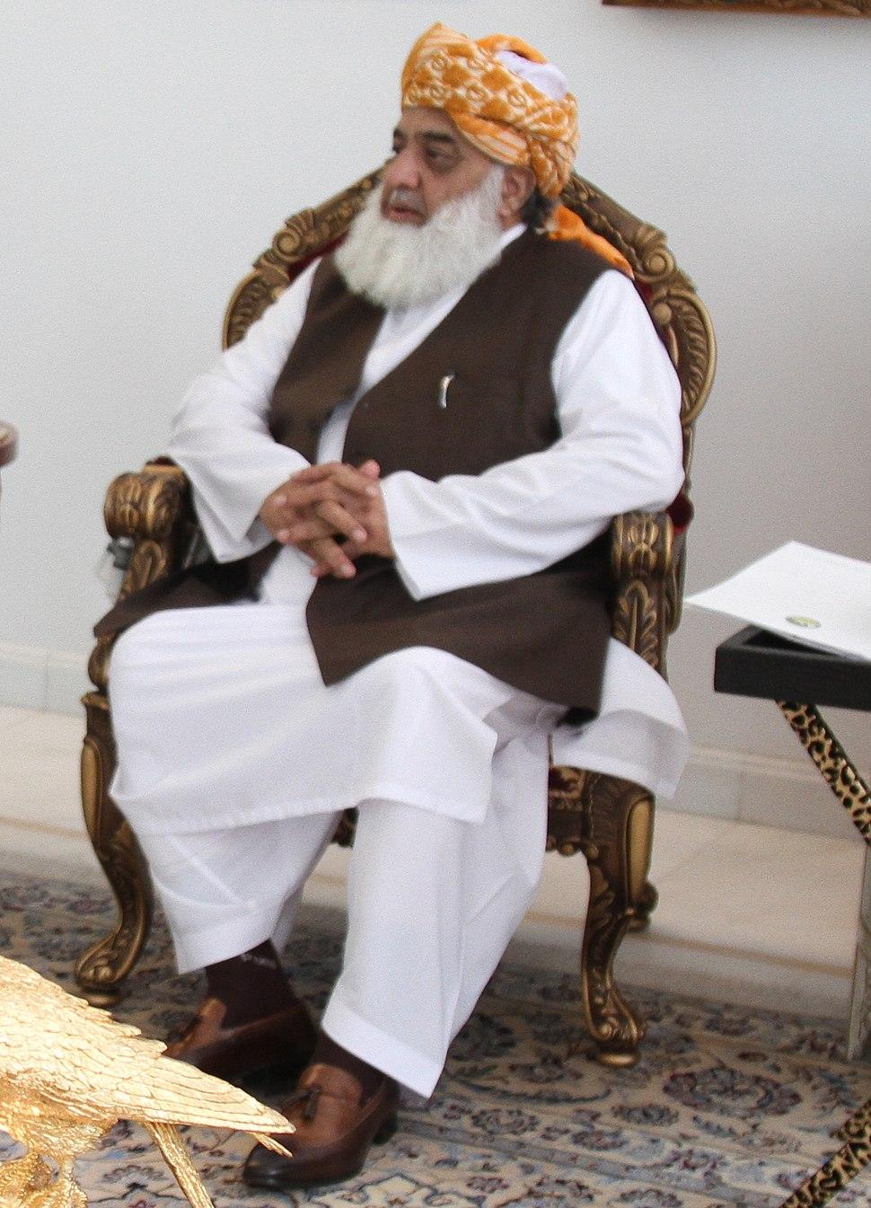 Fazl-ur-Rehman (30287690872) (cropped)