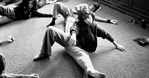 Feldenkrais Method - Students at the San Francisco Feldenkrais Practitioner Training doing an Awareness Through Movement lesson (1975)