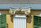 Feldkirchen Kirchgasse 8 Baur-Hansl-Haus Fassade Kapitell 02082018 6084.jpg