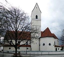 Feldkirchen b M, Jakobskirche v ONO, 2