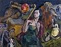 Female Emigrant by Aristarkh Lentulov (1933).jpg