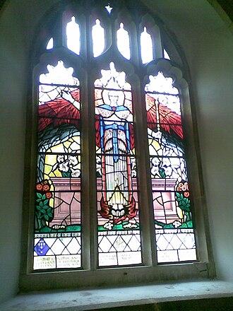 Feock, Cornwall - Image: Feock Church Window