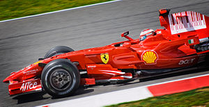 2008 Spanish Grand Prix - Kimi Räikkönen took the win from pole position.