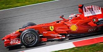 2008 Spanish Grand Prix - Kimi Räikkönen took the win from pole position.