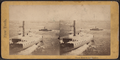 Ferry Boat to the Harbor, from Robert N. Dennis collection of stereoscopic views.png