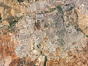 Timeline of Fez - Satellite view of Fez, 2016