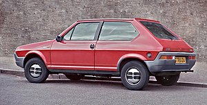 Fiat Ritmo - A first-series Fiat Strada-cum-Ritmo (UK)