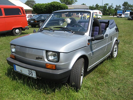 Fiat126 Pop2000 Cabrio