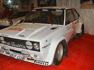 Jolly Club - Fiat 131 Abarth of Walter Rohrl, prepared by Jolly Club