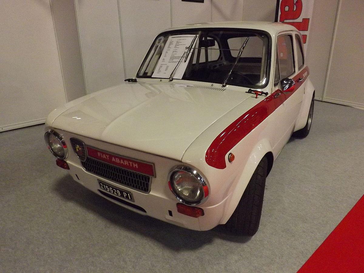 Px Fiat Abarth Body on Fiat 850 Berlina