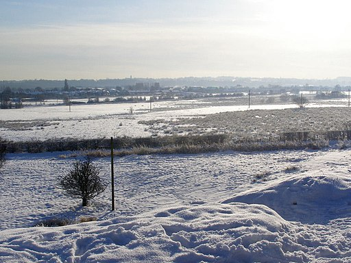 Fields to the South of Elton Reservoir - geograph.org.uk - 1671000