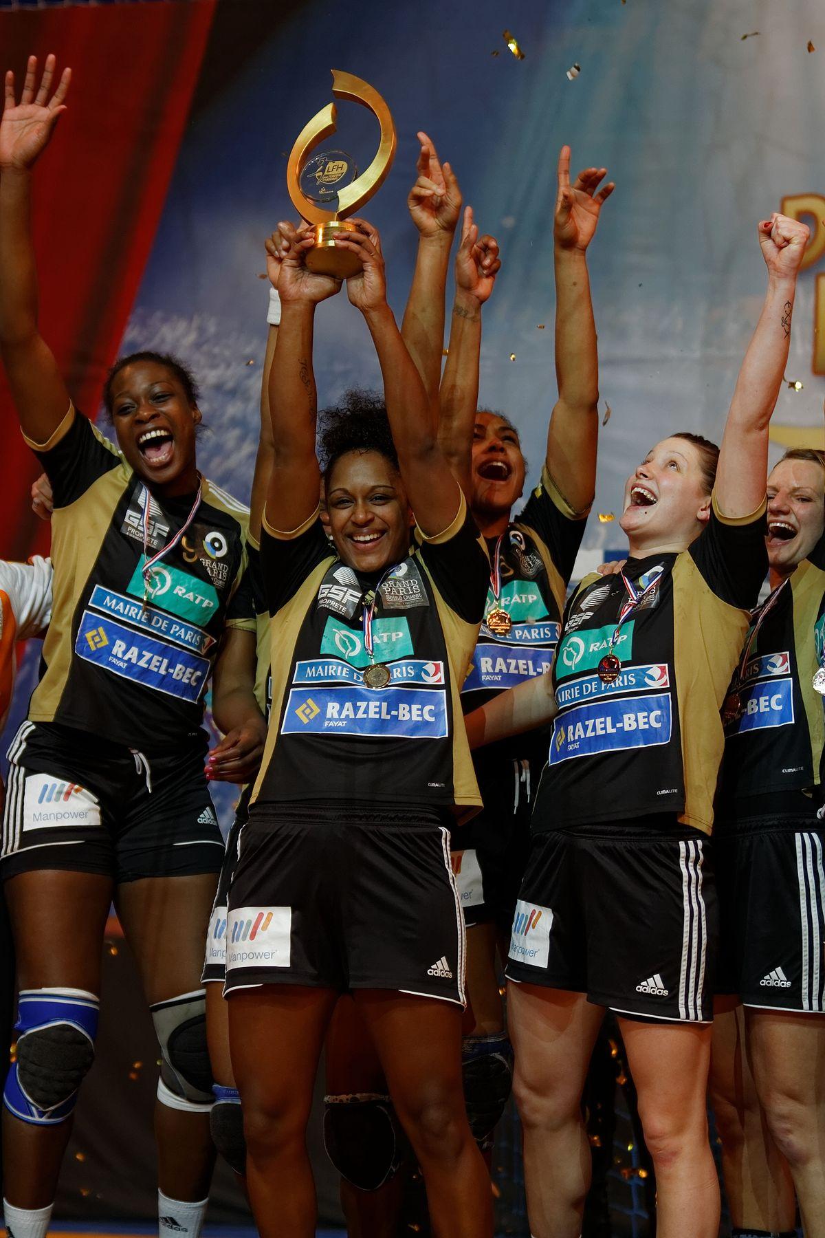 Coupe de la ligue fran aise de handball f minin 2012 2013 wikip dia - Finale coupe de la ligue 2014 ...