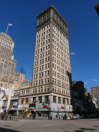 Home Office Building - Image: Firemen's Insurance Building Four Corners Newark 03