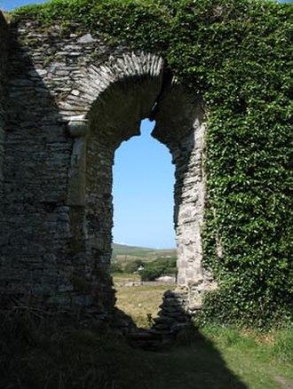 Ballycarbery Castle - First floor window.