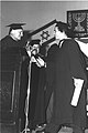 First Graduation at Bar Ilan University - Ogden Reid 1959.jpg