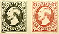 First Luxembourgish stamps from 1852.JPG