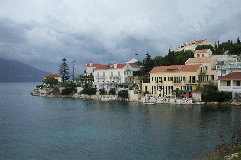 Isla griega de Kefalonia