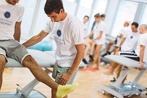 Alma Mater Europaea – Evropski center, Maribor - Physiotherapy students of Alma Mater Europaea