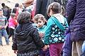 Flüchtlinge - Immigranten beim Grenzübergang Wegscheid (22698206828).jpg