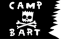 Flag of Camp Bart from The Simpsons, S4 E1.png