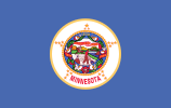 Flag of Minnesota (August 2, 1983)